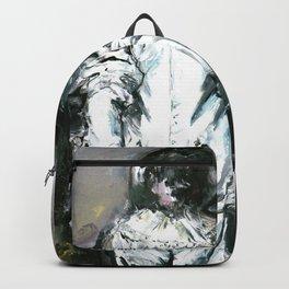 Jilles, the Sad Versailles Harlequin Backpack