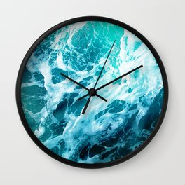 Out there in the Ocean Wall Clock