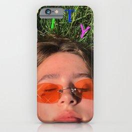 clairo pretty girl album cover iPhone Case