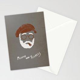 Melvin Van Peebles Minimalist Portrait Stationery Cards