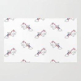 Pooping Unicorns Rug