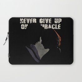 The X-Files - Never Give Up On A Miracle Laptop Sleeve