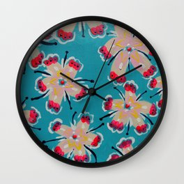 Georgia Lilly Wall Clock