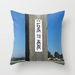 Wherever You Are Throw Pillow
