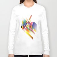cello Long Sleeve T-shirts featuring Cello Uno by Simon Vinh