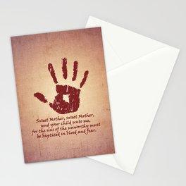 Dark Brotherhood Stationery Cards