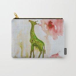 Green giraffe Carry-All Pouch