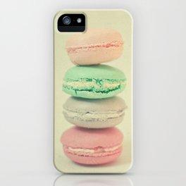 Four Macarons iPhone Case