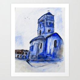 Once A Church Art Print