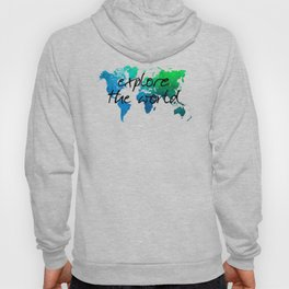 world map 124 explore the world #map #worldmap Hoody