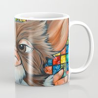 gizmo Mugs featuring Gizmo  by Portraits on the Periphery