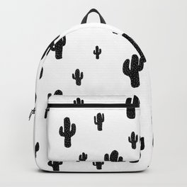 Mesa - black on white Backpack