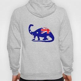 Australian Flag - Brontosaurus Hoody