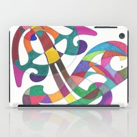 inspiration iPad Cases featuring Inspiration by SaraLaMotheArt