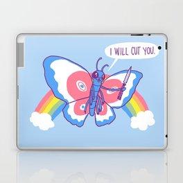 Butterfly Knife Laptop & iPad Skin