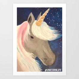 #Uni Life Art Print