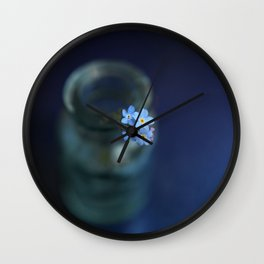 Dont forget us Wall Clock