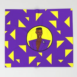 Grace Jones Throw Blanket