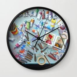 Homage' A Piero Della Francesca Wall Clock