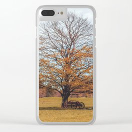 Autumnal Country - Valle Vigezzo (Italy) Clear iPhone Case
