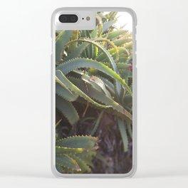 Succulent Smitten 2 Clear iPhone Case