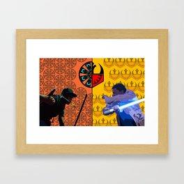 Allow the traitor! Framed Art Print