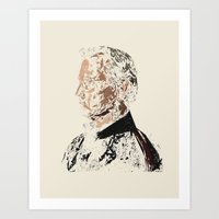 bill murray Art Prints featuring Bill Murray by Kyle Louis Fletcher