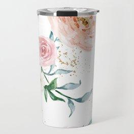 Rose Arrangement No. 1 Pattern Travel Mug