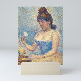 "Georges Seurat ""Young Woman Powdering Herself"" Mini Art Print"