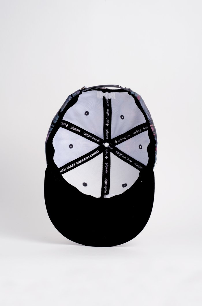 Snapback Hat: Casey Saccomanno (in4mation x Society6) Editions
