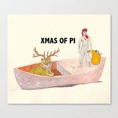 Xmas of PI Canvas Print