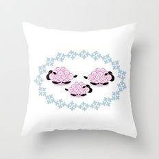 Pastel Baaradise Throw Pillow