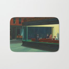 Nighthawks Bath Mat