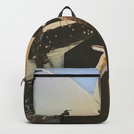 Nature Collage Backpack