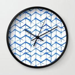 Shibori Wall Clock
