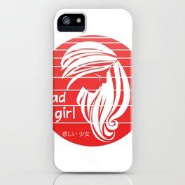 japanese aesthetic hentai face kawaii Japanimation iPhone Case