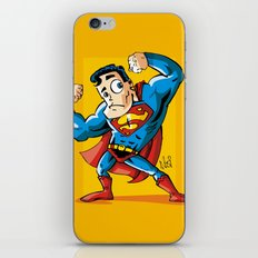 Strong man in Costume iPhone & iPod Skin
