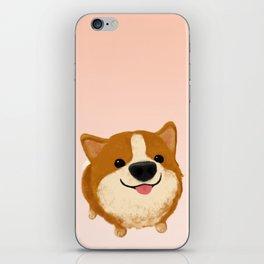 Corgi [boop the snoot!] iPhone Skin