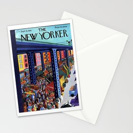 Vintage New Yorker Cover -Circa 1935-2 Stationery Cards