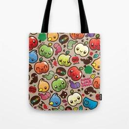 Apple Pattern Tote Bag