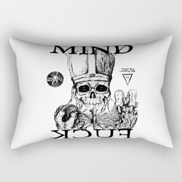 Believe the Dogma - Mind Fuck  Rectangular Pillow