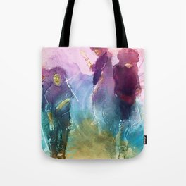 Ink In Motion Tote Bag