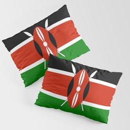 Kenyan flag of Kenya Pillow Sham