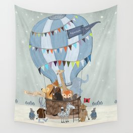 little adventure days Wall Tapestry