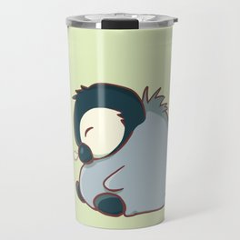 Sleepy baby penguin Travel Mug
