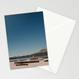 Vancouver snow Stationery Cards
