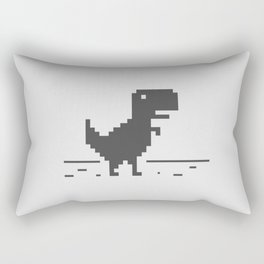 Google Chrome's Dino Rectangular Pillow