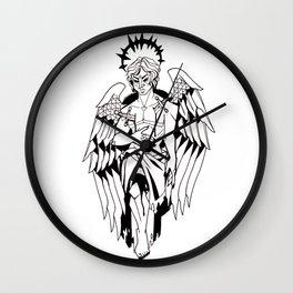 Corrupt Angel Wall Clock