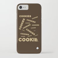 cookies iPhone & iPod Cases featuring COOKIES! by Lindsay Spillsbury