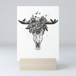 Dead summer (bw) Mini Art Print